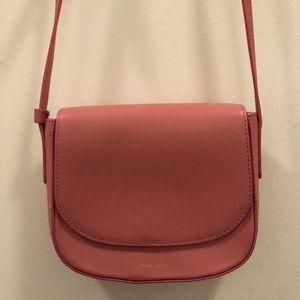 Mansur Gavriel Pink Peony Mini Crossbody Bag